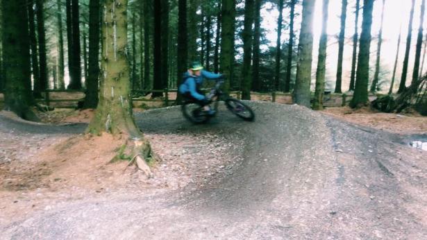 OPA coed llandegla women core skills course review trails mountainbiking