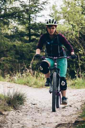 mtb gisburn trail women mtb mountainbiking mountain biking gisburn trail ride guide review forestry commision hope technology