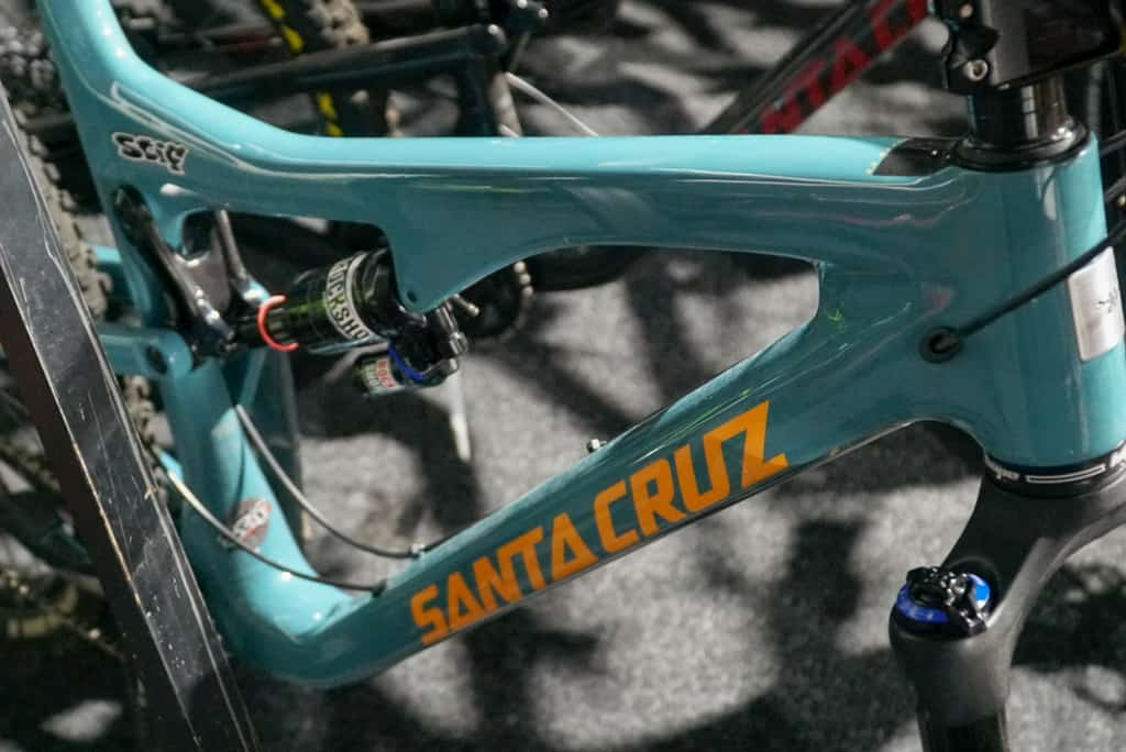 Peaty's bike bonanza santa cruz bike