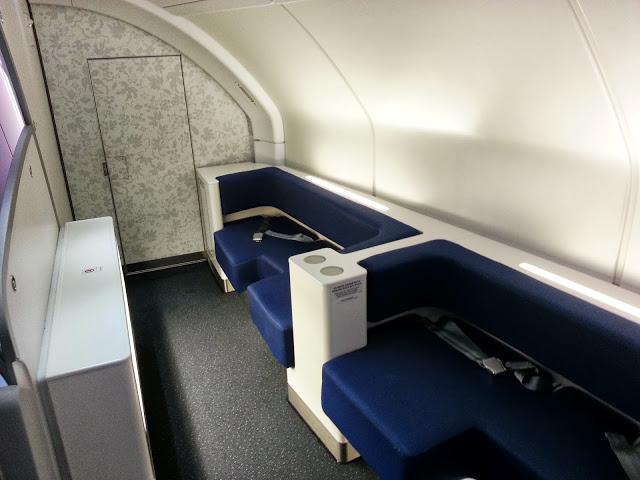 Korean A380 Lounge