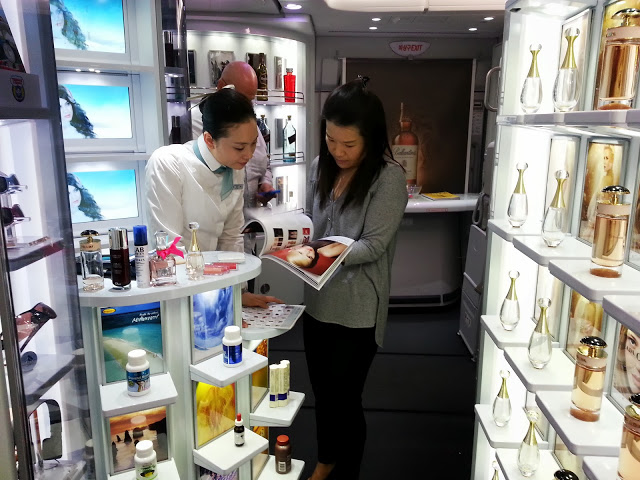 Korean A380 Duty Free Shop