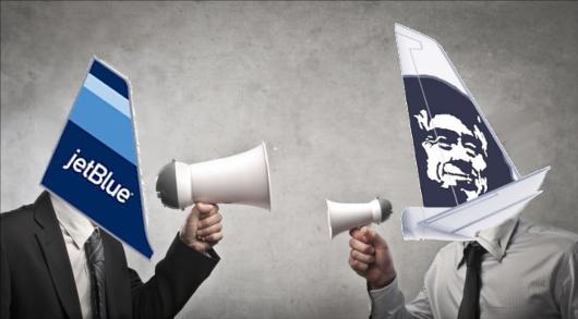 JetBlue Gives Alaska and Earful