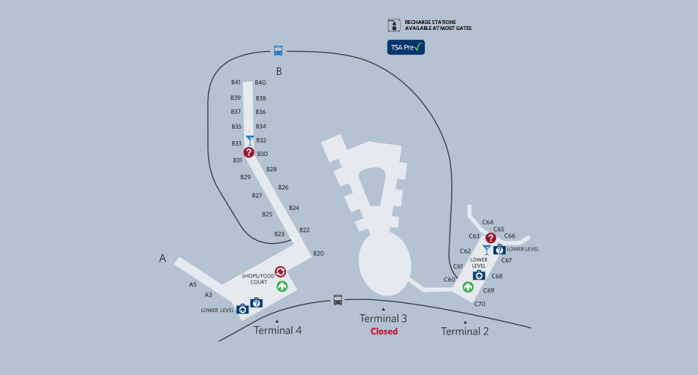 Jfk Terminal 4 Map Delta Moves Most Regional Flights to Terminal 4 at JFK Tomorrow  Jfk Terminal 4 Map