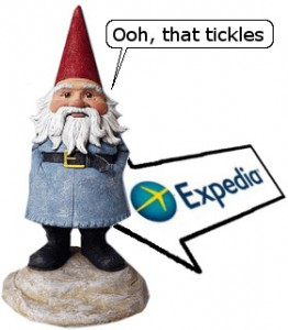 Travelocity Gnome Expedia