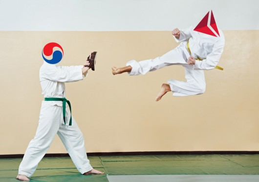 Delta Korean Air Fight