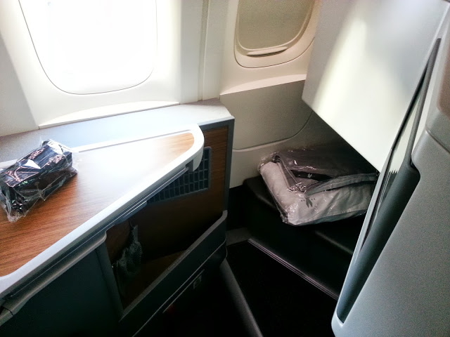 The View From the Business Class Seat