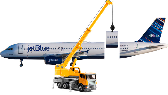 JetBlue A320 Extension