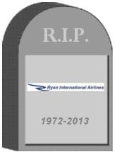 Ryan Intl Shut Down