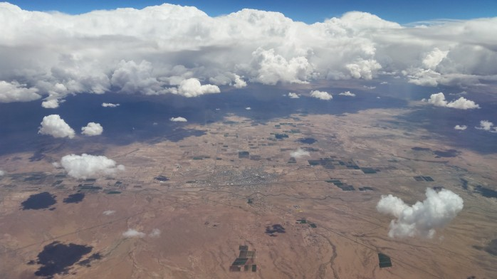 Storms Over New Mexico