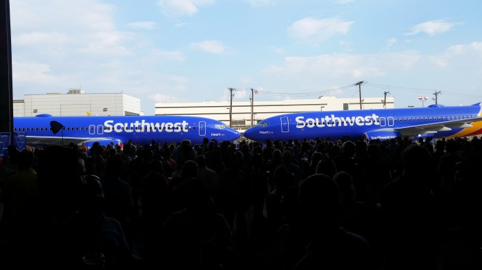 Southwest Nose to Nose