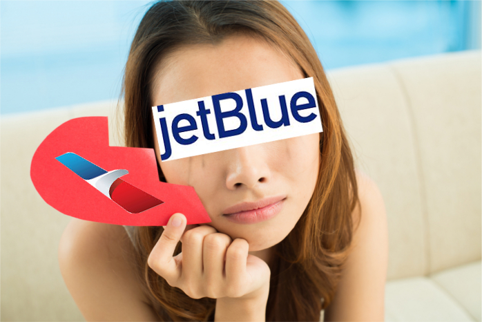 American JetBlue Break Up