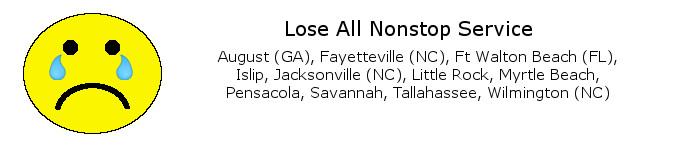 Lose Nonstop DCA