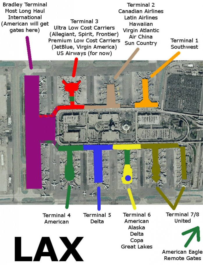 Lax Map Terminal on