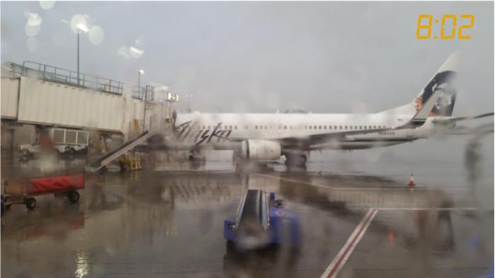 A Rainy Mineta San Jose Airport