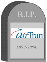 AirTran Tombstone