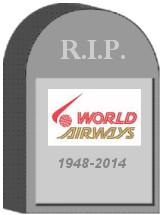 World Airways Tombstone