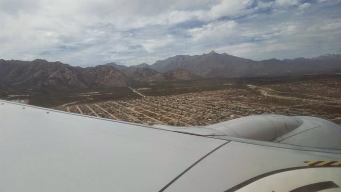 Landing in Cabo