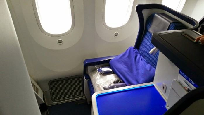 ANA 787 Business Class