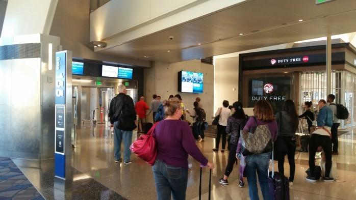TBIT Boarding gate LAX