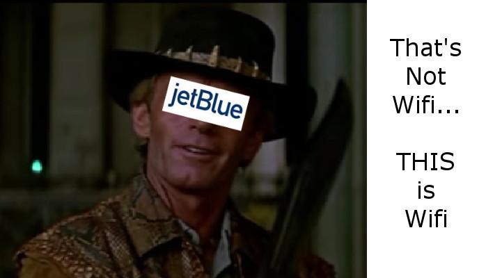 JetBlue Fast Wifi
