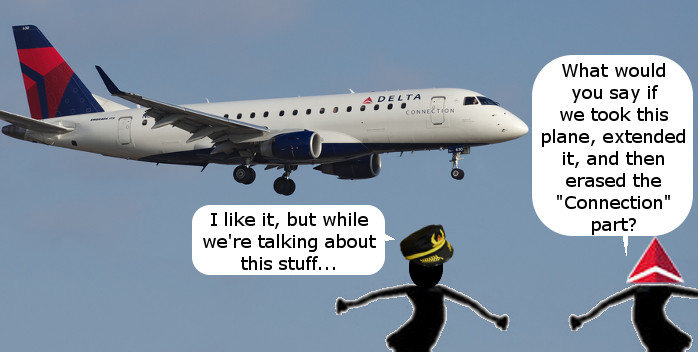 Delta Embraer 190