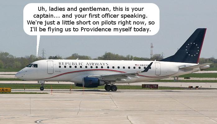 Republic Pilot Shortage