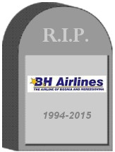 B&H Airlines Tombstone