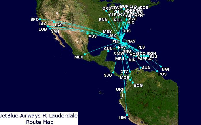 Southwest Reveals Its Ft Lauderdale Plans as a Four-Way ...