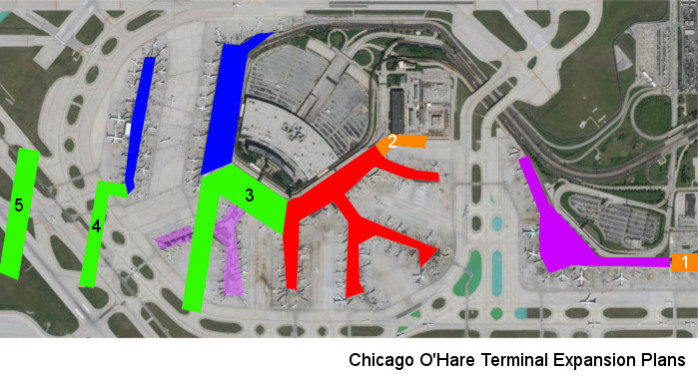 Chicago O\'Hare Takes Steps Toward the Future With Massive Expansion ...