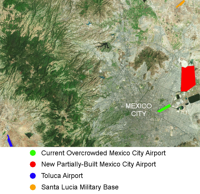 Mexico Lurches Toward Making A Bad Airport Decision Cranky Flier