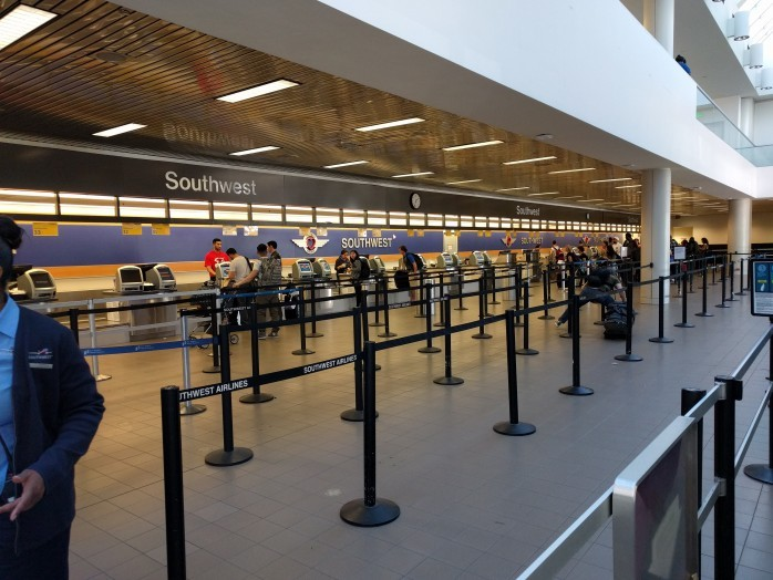 Current Southwest Ticket Counter Terminal 1 LAX