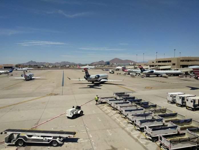 US Airways Tails in Phoenix