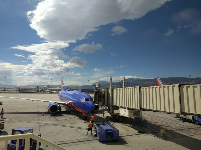 Southwest N237WN in Reno
