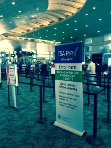 Tampa Airport sponsored