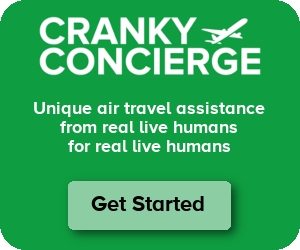 Cranky Concierge Air Travel Assistance