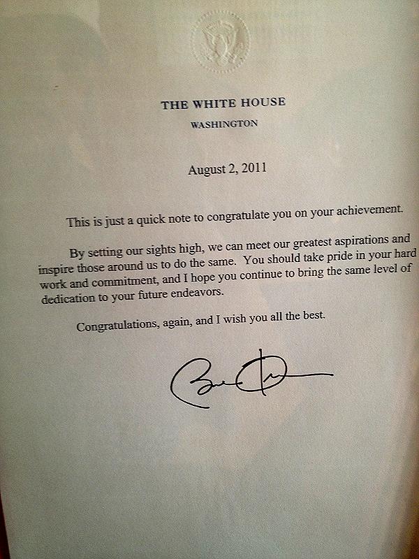 Presidential-Letter