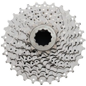 Shimano Cassette, CS-HG50-9 9-Speed NI-PlateD 12-13-14-15-17-19-21-23-25T