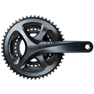 Shimano CrankSet, FC-R3030, Sora TRIPLE, 4-Arm 170MM 2-PCS FC, for Rear 9-Speed, 50X39X30T, w/o BB, w/o Chain Guard