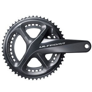 Shimano CrankSet, FC-R8000, Ultegra, for Rear 11-Speed, HollowTECH-2, 172.5MM 50-34T, w/o BB
