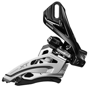 Shimano Front Derailleur, FD-M8020-D, Deore XT, for 2X11, Direct Mount, Side-Swing, Front-Pull, CS-Angle: 66-69