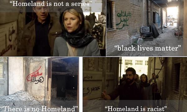 """Homeland"" and a graffiti artist gone rogue"