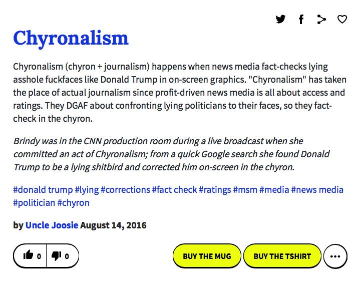 chyronalism