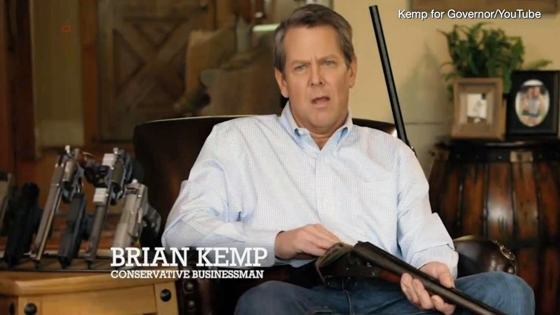 Obama-phobic Georgia SOS Brian Kemp has a Trump-Russia problem
