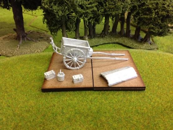 Two Wheeled Ammunition Cart