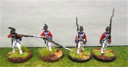 British Guards Flank co marching