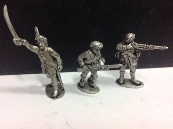 Baggot's Hussars - dismounted