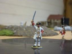 French Officer - Sword raised.