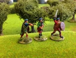 Highland/Lowland Command Officer running