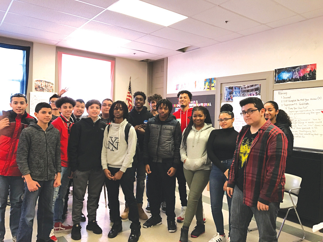 East Grad Returns To Spit Knowledge To 9th Graders