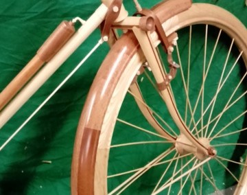 Wooden Bicycle 2015